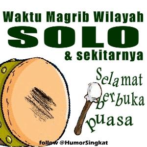 Animasi Bedug Magrib Solo sekitarnya