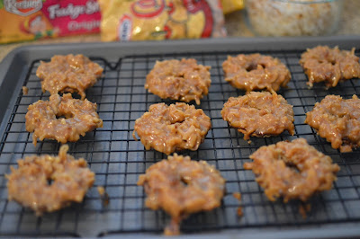 coconut and caramel cookie recipes