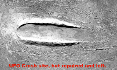 UFO Crash Site Discovered On Google Mars Map 2015, UFO Sightings