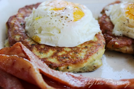 Potato Pancakes 1 Photo by Tori Beveridge