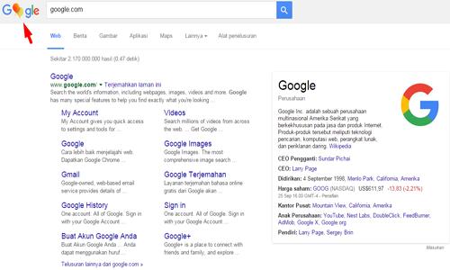 Balon Ulang Tahun Google