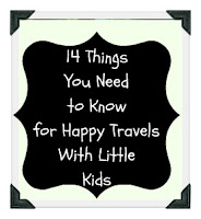 the logistics of traveling with small children