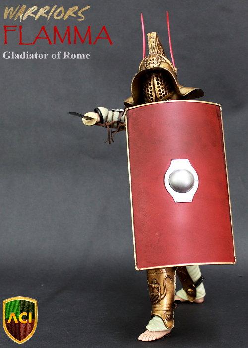toyhaven: ACI Toys 1/6 Warrior: FLAMMA, Gladiator of