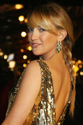 Kate Hudson Gemstone Chandelier Earrings