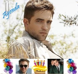Agenda Robert Pattinson