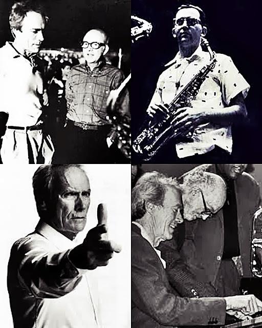 Lennie Niehaus y Clint Eastwood. Toto y Alfredo