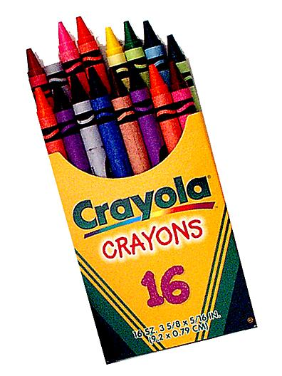 Maison decor my first box of crayons Coloring book and crayons