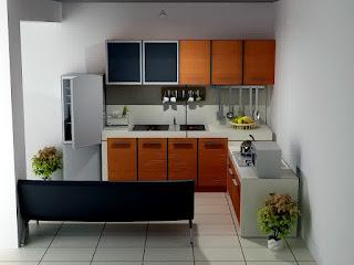 Contoh Desain Dapur Minimalis Sederhana Terbaru
