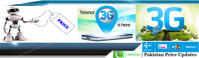 Telenor 3G Packages Prices