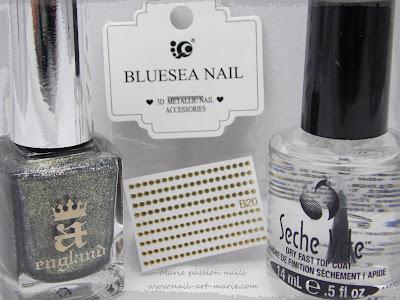 Nail art chic et discret8