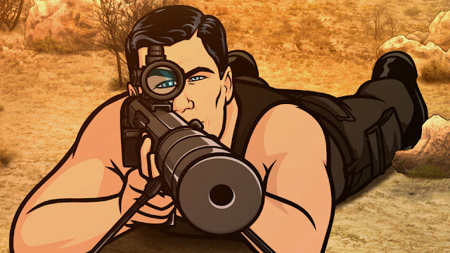 Archer prepares to assassinate the writers in charge of Smash this season.