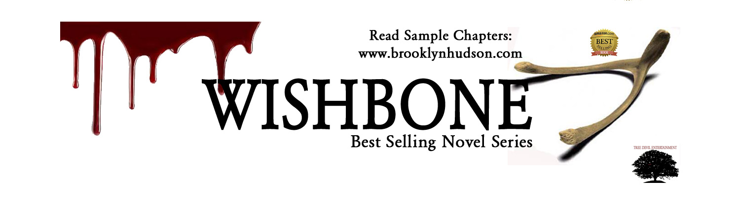 Brooklyn Hudson - Author of Bestselling Thriller, WISHBONE.