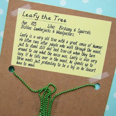 Leafy the Tree character bio