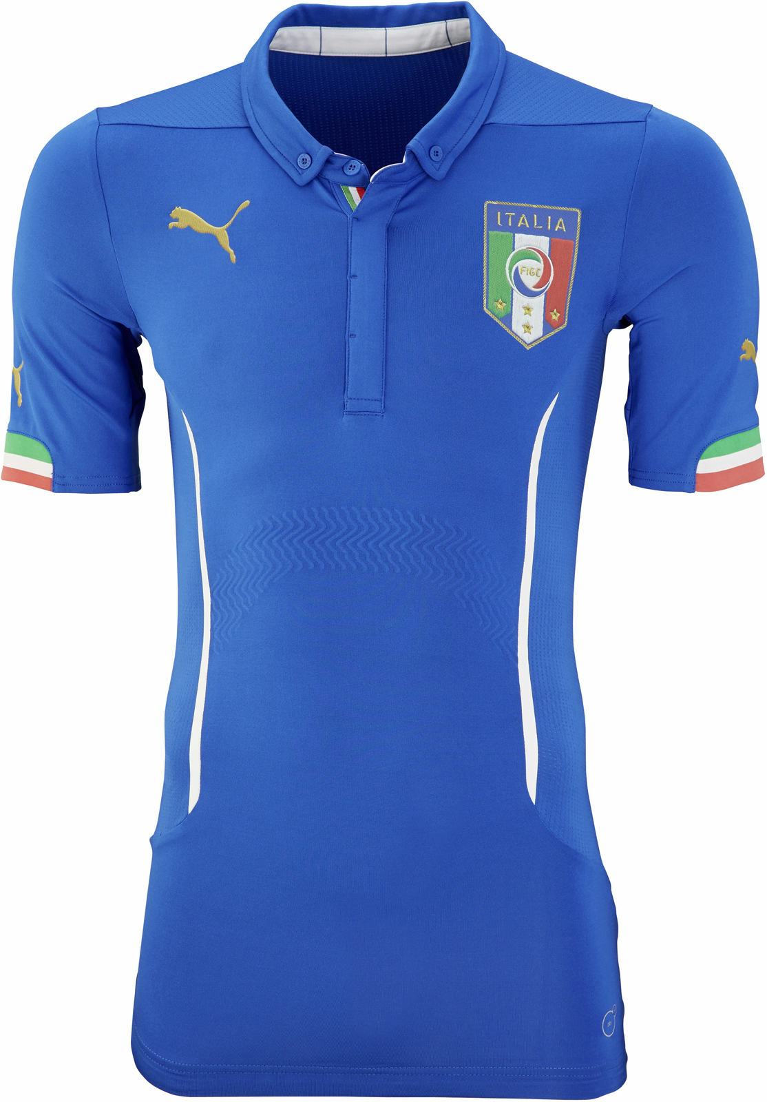 puma italy 2014 world cup home and away kits released