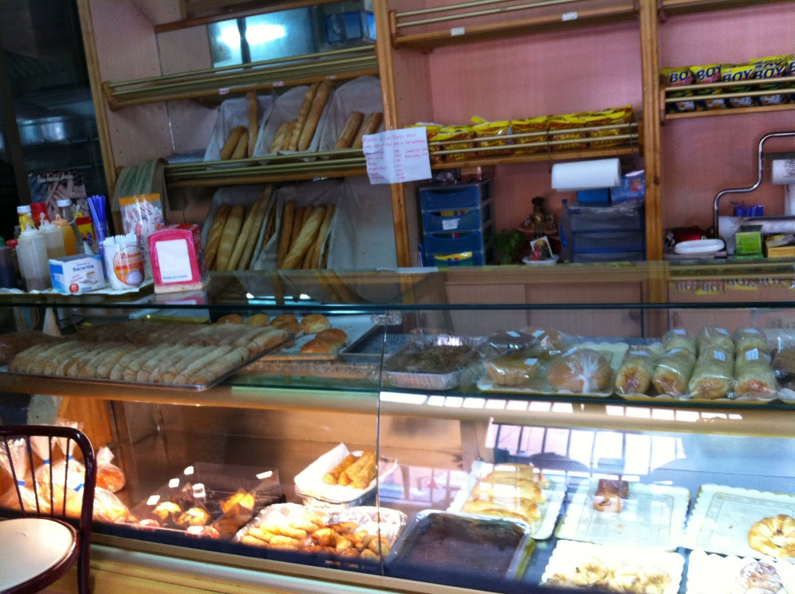 Kakanin business - Baguettes Croissants Cupcakes Palmeras And Spanish Empanadas Share The Display Case With Our Beloved Pan De Sal Spanish Bread Kakanin Sa Lihia And