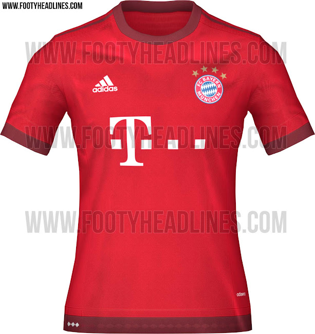 New Kits 15/16 Bayern-munchen-15-16-home-kit