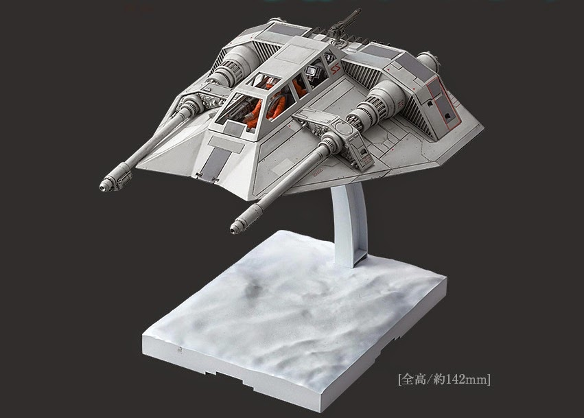 star wars snowspeeder luke skywalker model kit