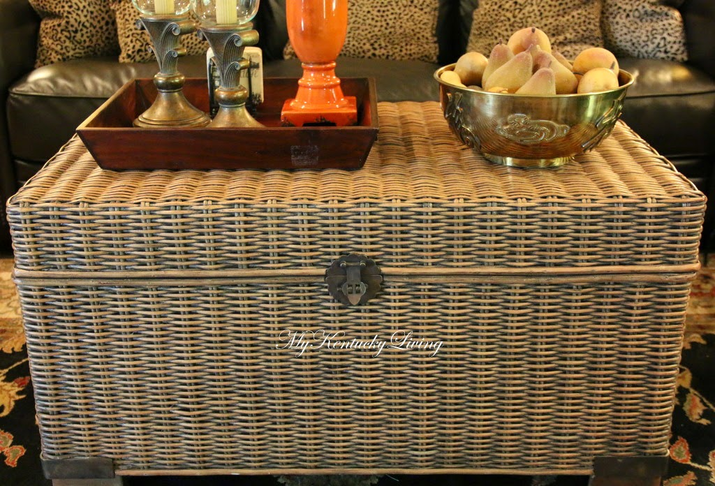 Wicker Trunk Coffee Table The Coffee Table