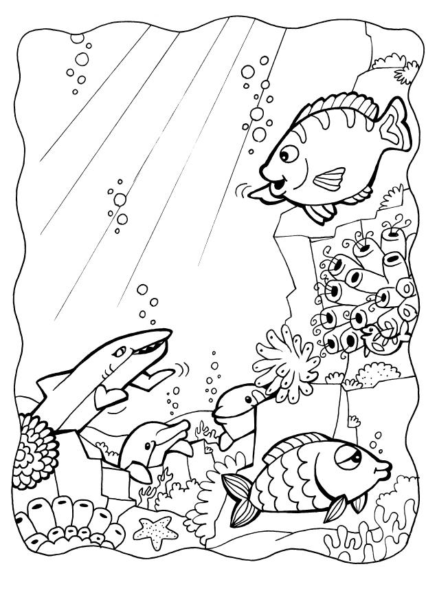 Free Fish Coloring Pages For Kids Gt Gt Disney Coloring Pages