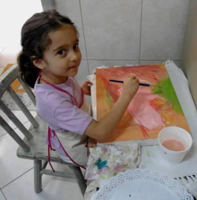 Maria Eduarda T. Ferone - 4 anos