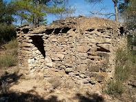Barraca de vinya de la Serra Mitjana