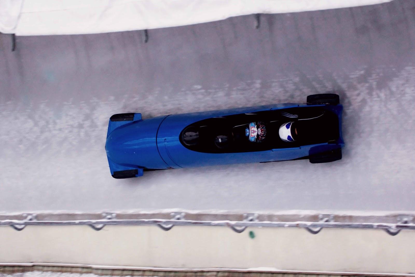 Spoportivement lo c costerg pilote de l 39 quipe de france for Interieur bobsleigh