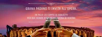 Concorso Grana Padano ti invita all'opera