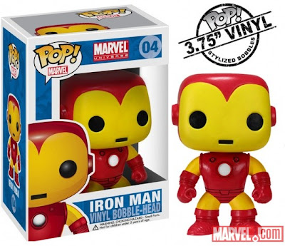 Iron Man Funko Marvel Bobble-Head