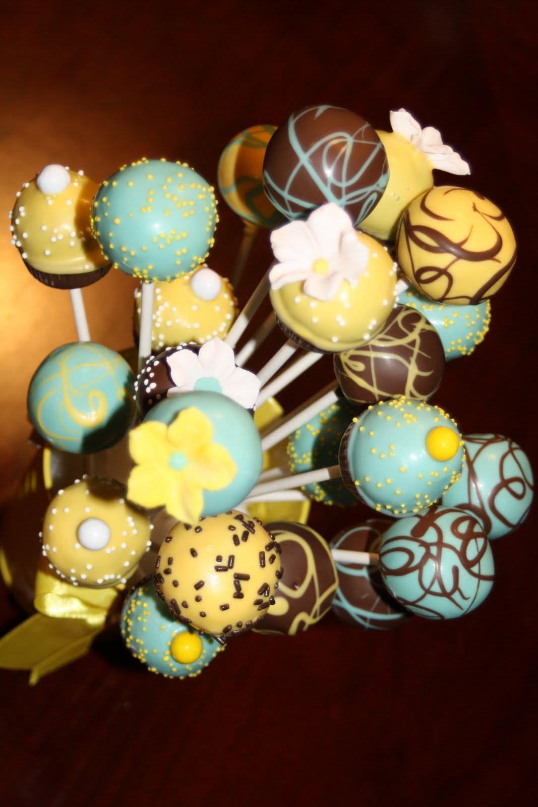 Natalies Cake Pops More Custom Cake Pop Bouquets