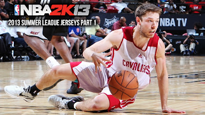 NBA 2K13 Summer League 2013 Practice Jerseys Mod
