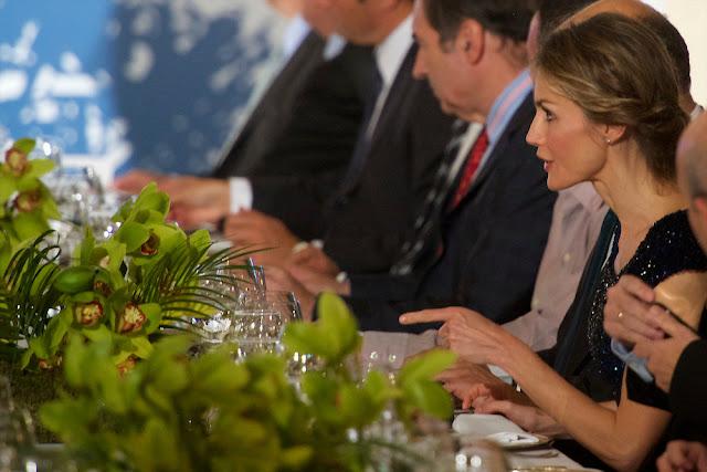 """Queen Letizia of Spain attend the 25th Anniversay of """"El Mundo"""