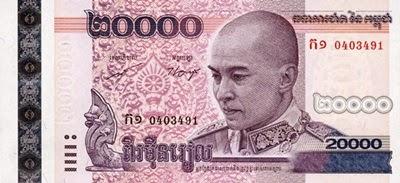 Kamboçya Parası Resimleri