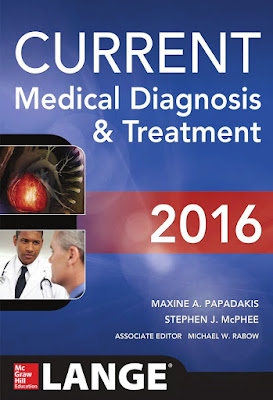 CURRENT Medical Diagnosis and Treatment 2016 - Free Ebook Download