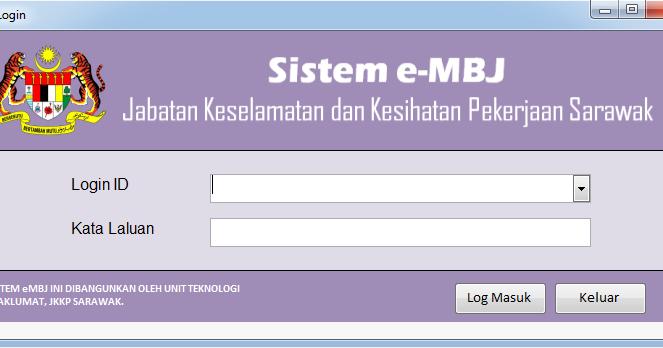 Demi Pekerja Demipekerja Blogspot Com Langkah Langkah Menggunakan Sistem E Mbj Jkkp Sarawak Versi 2 0