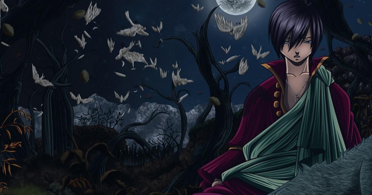 Zeref Anime Pic...