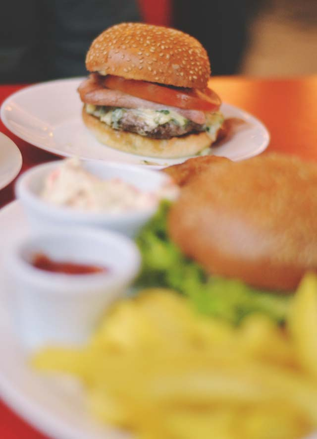 Ed's Easy Diner Burger of the Month