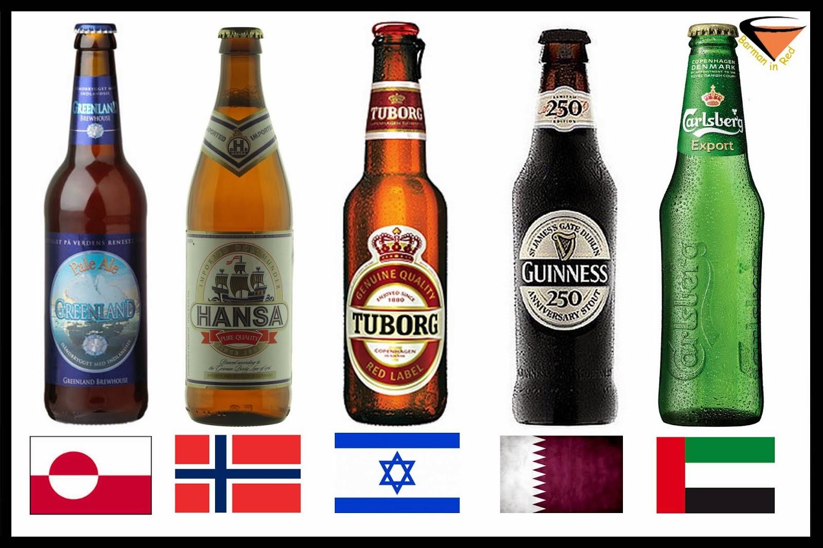 10 paises mas caros cerveza