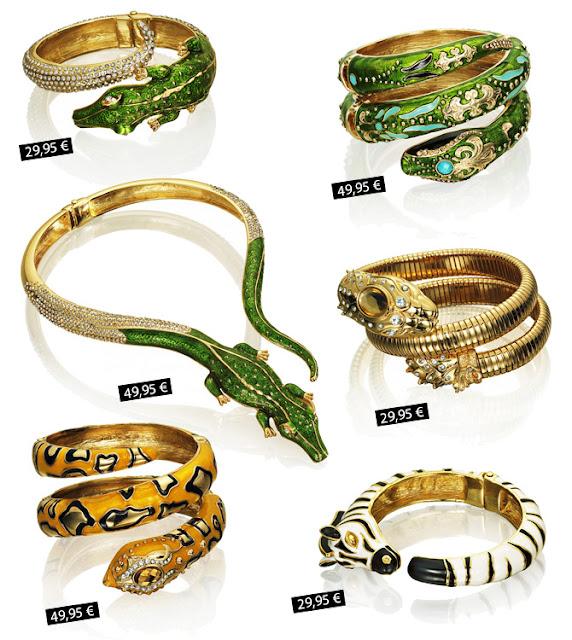 Anna dello Russo jewelry for H&M prices