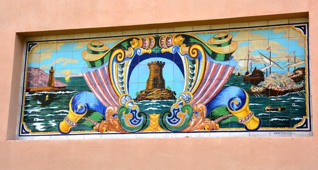 Heroes of Cavite Cartagena Wall Paintings