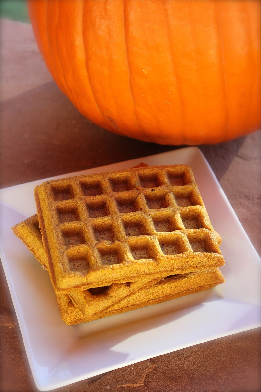 love is in the details: Pumpkin Waffles with Apple Cider Syrup