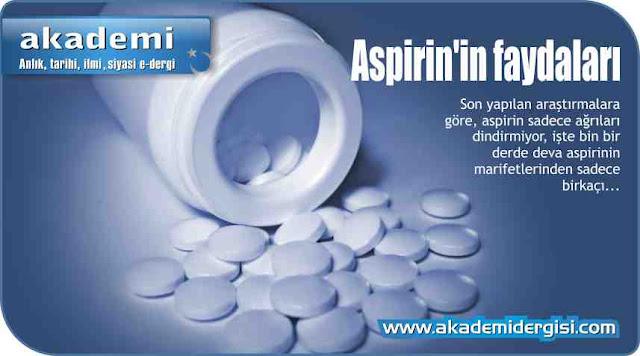 Aspirin'in faydaları