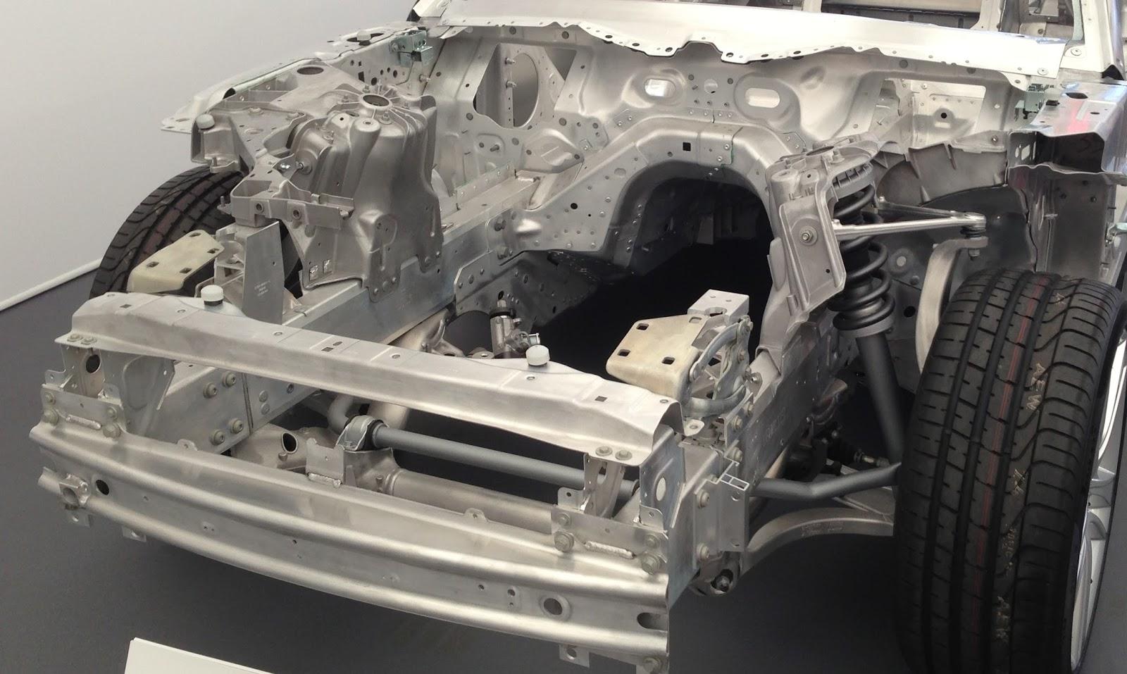 Jaguar F Type cutaway