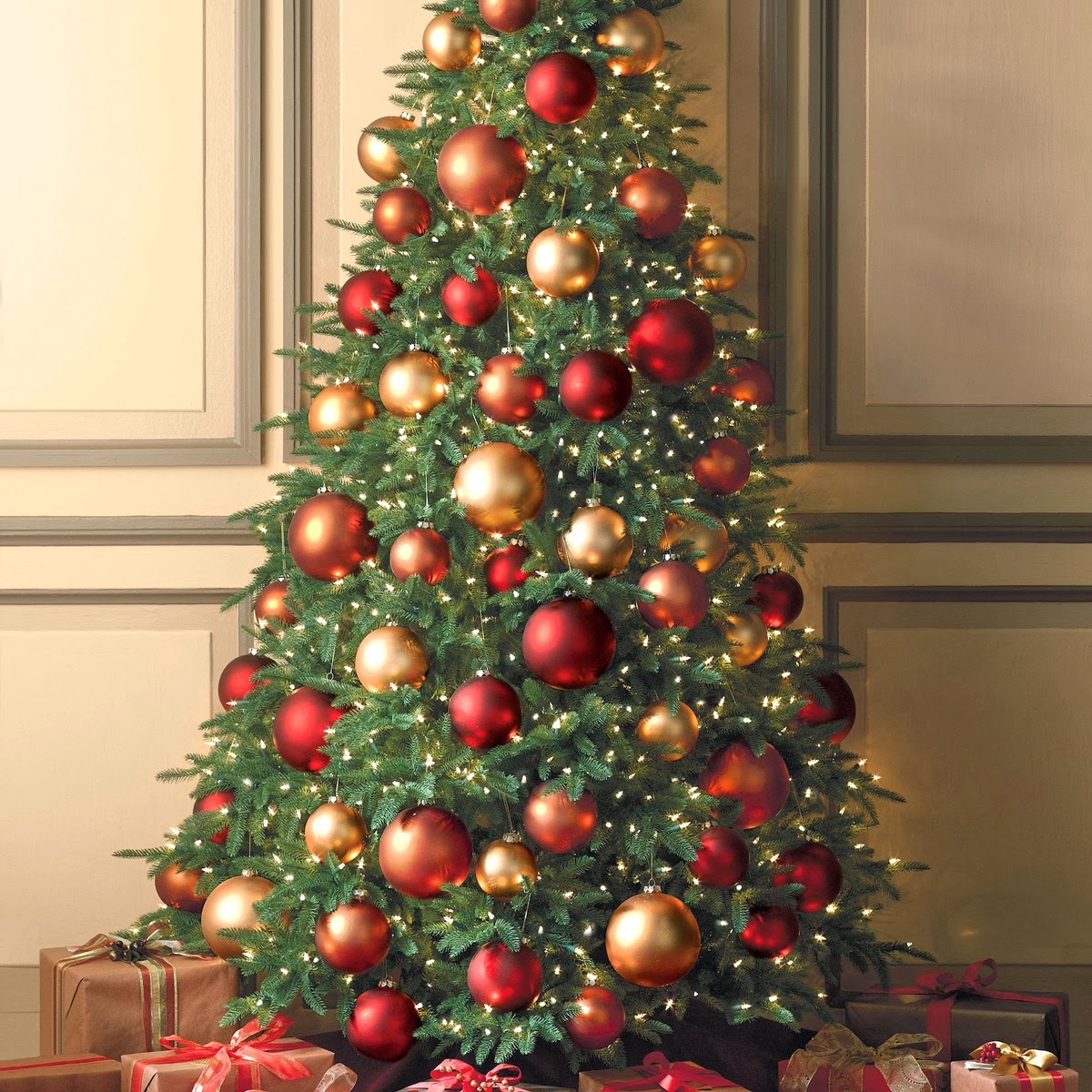 christmas trees - Large Christmas Tree Ornaments