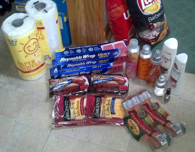 Shades of Safhire - Coupon Haul May 26, 2013