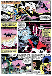 X-men v1 #126 marvel comic book page art by John Byrne