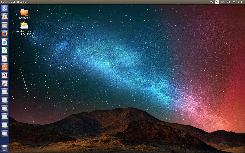 Escritorio Ubuntu14.04 LTS