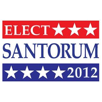 santorum for president 2012