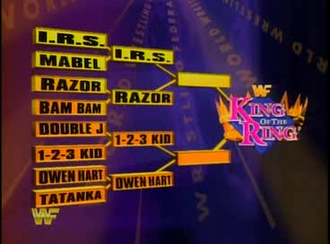 WWF / WWE - King of the Ring 1994: The results after the first round