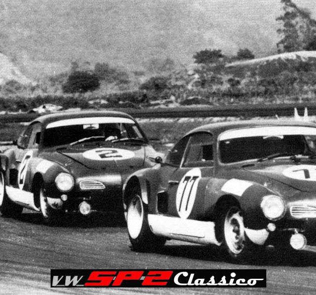 Emerson Fittipaldi e Luis Carlos Pace - Karmann Ghia DACON