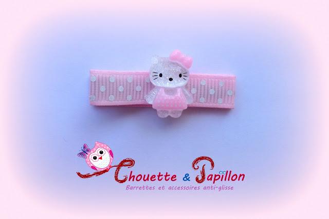 barrette Hello Kitty